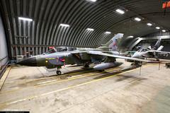 ZG752 - Panavia Tornado GR4 - RAF Marham Wing (KarlADrage) Tags: zg752 panaviatornadogr4 tornadogr4 rafmarham egym retro camouflage tornadofarewell tornadoretirement has hardenedaircraftshelter coldwar