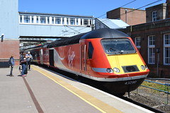 London North Eastern Railway HST 43290 (Will Swain) Tags: newcastle station 1st july 2018 berwick upon tweed train trains rail railway railways transport travel uk britain vehicle vehicles england english europe london north eastern hst 43290 class 43 290 high speed