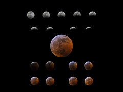 Lunar Eclipse Collage (StephenGA) Tags: lunareclipse eclipse moon astrophotography a6000 80mm 2019