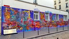 22 - Paris - Février 2019 - Avenue Jean Aicard, rue Oberkampf (paspog) Tags: paris france février februar february 2019 avenuejeanaicard rueoberkampf fresque fresques mural murals tags graffitis strettart