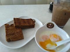 Simple breakfast at Old Town White Coffee in Kuala Lumpur (Malaysia) (Loeffle) Tags: 112018 malaysia kualalumpur breakfast frühstück oldtown oldtownwhitecoffee