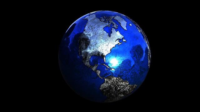 Обои планета, шар, глобус, 3д картинки на рабочий стол, фото скачать бесплатно