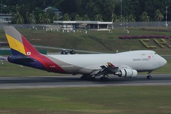 Asiana Cargo (So Cal Metro) Tags: airline airliner airplane aircraft plane jet aviation airport singapore sin changi