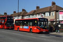 Abellio London 8881 (SN17MOV) on Route 195 (hassaanhc) Tags: abellio abelliolondon abelliogroup alexander dennis adl enviro enviro200 e200 e200mmc enviro200mmc