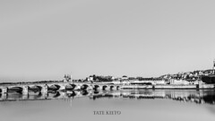 Blois&White (Tate Kieto) Tags: landscape city blackwhite river france