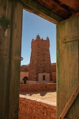 Just peeking (s_andreja) Tags: mauritania chinguetti mosque old city desert door architecture