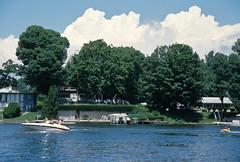 Lake Shafer, Summer 2008 (Roger Gerbig) Tags: canoneos3 canonef28105f3545 lakeshafer indiana monticello rogergerbig slidefilm 135film 35mm ektachromee100g kodak