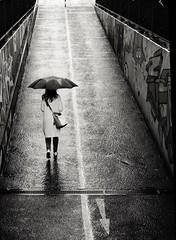 Rainyday (Guido Klumpe) Tags: regen rain rainy regnerisch kontrast contrast gegenlicht shadow schatten silhouette gebäude architecture architektur building perspektive perspective candid street streetphotographer streetphotography strase hannover hanover germany deutschland city stadt streetphotographde unposed streetshot
