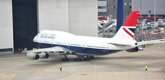 New (Old) BA colour scheme (M McBey) Tags: boeing 747 britishairways retro liviery aircraft airliner colourscheme