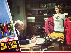 """Promotional materials for """"We've Never Been LIcked"""" 02.jpg (buddymedbery) Tags: years unitedstates worldwarii collegestation 1943 1940s texas"""