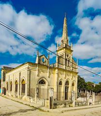 The Panoramas - Santa Rosa de Lima, Ranchuelo's oldest and main church (lezumbalaberenjena) Tags: panorama panoramic cuba lezumbalaberenjena 2019 ranchuelo villas villa clara