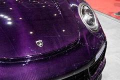 TopCar Stinger GTR (Clément Tainturier) Tags: 2019 geneva international motor show gims salon de lauto automobile lautomobile genève suisse switzerland hypercar supercar new hot topcar stinger gtr porsche 991 911 turbo purple carbon fiber