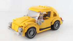 Lego Bumblebee car MOC (hachiroku24) Tags: lego bumblebee volkswagen beetle car moc transformers