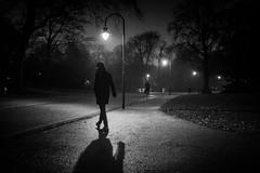 on the way home (Rien van Voorst) Tags: streetphotography straatfotografie strasenfotografie fotografíacallejera photographiederue fotografiadistrada monochrome city urban highcontrast fuji xt3 nederland dutch thenetherlands paysbas niederlände avond night abend dark dunkel donker sahdow schatten schaduw