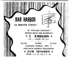 1951  Bar Harbor club  44 beaver st (albany group archive) Tags: 1950s bars old albany ny vintage photos picture photo photograph history historic historical