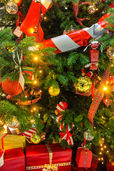 Christmas tree (langalexx) Tags: christmas tree decorations for new year spruce garland bells balls candies lights bows toys with gifts presents follow f4f followme followforfollow follow4follow teamfollowback followher followbackteam followhim followall followalways followback pleasefollow follows follower
