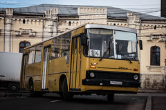 Ikarus around the bend (WT_fan06) Tags: ikarus romania ploiesti 260 yellow orange focus photography aperture nikon d3400 dslr nikkor atmosphere mood oldtimer retro vintage public transportation 2120 tce cityscape 104 historic bus coth5 flickr 7dwf