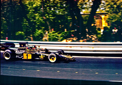 LOTUS 72 Emerson Fittipaldi G.P. Spain 1973 (Manolo Serrano Caso) Tags: lotus 72 emerson fittipaldi gp spain 1973 f1 winner circuit montjuich formulaone racecar johnplayerspecial