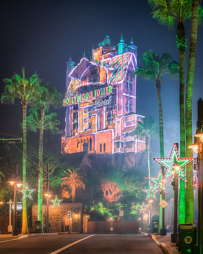 Hollywood Tower Gingerbread House