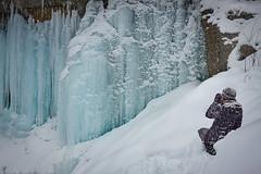 Winter Bliss (Bert CR) Tags: winterbliss snow snowandice snowshoeing winterhike canon canon40d snowstorm 40d ice blueice blue