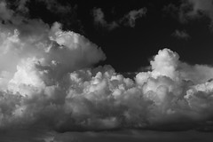 Clouds 5231 (Loopodude) Tags: clouds sky skyscape nature outdoors organic mono monochrome blackandwhite canont5 sigma28mm118exdg