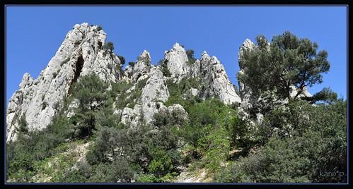Calanques de Cassis roches 7