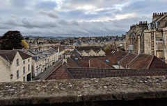 Bath Room View (LeftCoastKenny) Tags: england day11 bath hills buildings trees sky clouds