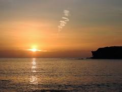 North Sea Sunrise - Seaton Sluice (Gilli8888) Tags: nikon coolpix p900 coast coastal eastcoast northeast northumberland northsea seatonsluice silhouette silhouettephotography seaside sea sunrise dawn morning february light reflections reflectionsonwater