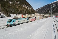 RAIL TRACTION COMPANY - BRENNERO (Giovanni Grasso 71) Tags: rail traction company brennero eu43 nikon d610 giovanni grasso verona misto doppia