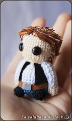 Han Solo Amigurumi - Star Wars (LaCalabazadeJack) Tags: han solo star wars fan art film movie chibi cute kawaii geek amigurumi crochet ganchillo yarn felt plush toy doll handmade handcraft craft tutorial la calabaza de jack cristell justicia artesanía tienda online venta shop comprar