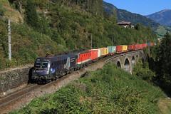 Am Steinbach Viadukt (C.Vitzthum) Tags: öbb taurus tauernbahn 1144 1116158 1116