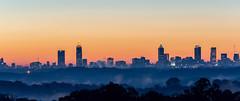 Atlanta Sunrise (JavaJoba) Tags: atlanta sunrise buildings morning orange