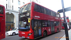 P1140891 VMH2530 LF68 PXG at Baker Street Station Baker Street Marylebone London (LJ61 GXN (was LK60 HPJ)) Tags: metroline volvob5lhybrid mcvevoseti mcv evoseti 105m 10490mm vmh2530 lf68pxg nb908