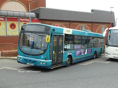 Arriva West Yorkshire, 1100 [YJ08DVA] - Preston (15/06/18) (David's NWTransport) Tags: arrivawestyorkshire arriva yj08dva wrighteclipseurban wrighturban wrightbus volvob7rle volvo