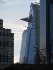2019 February Afternoon Light Hudson Yards Tower 1952 (Brechtbug) Tags: 2019 february afternoon light hudson yards tower with triangle balcony platform near 34th street midtown manhattan new york city nyc 02172019 west side construction center cityscape architecture urban landscape scape view cityview shadow silhouette close up skyline skyscraper railroad rail yard train amtrak tracks below grown buildings above