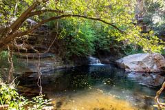 Moremi Gorge Pool_5705 (hkoons) Tags: moremigorge peacecorps southernafrica africa botswana debra palapye gorge hike hiking stream trail