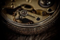 The day time stood still. (Steve.T.) Tags: macromonday pocketwatch watch fobwatch timepiece oldfashioned clockwork mechanical nikon d7200 sigma18200 raynoxdcr250 macro detailed details closeup clock antique retro retrowatch timepieces macromondays