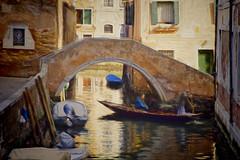Ponte Moro (Artypixall) Tags: italy venice boats canal bridge buildings facade urbanscene