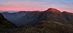First Light On Great Gable, The Lake District (dandraw) Tags: greatgable greengable thelakedistrict thelakes cumbria goldenhour firstlight sunrise wildcamp wildcamping outdoors adventure mountains landscape wasdale wasdalehead fuji fujifilm xt3