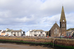 Maryport - Christ Church (Cumberland Patriot) Tags: maryport cumbria north west england northern uk river ellen solway firth harbour wall christ church