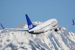 SE-RJS (toptag) Tags: boeing73776n serjs inn lowi innsbruck aviation mountains winter snow tirol austria sas