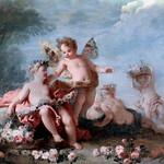 IMG_3870M Auger Lucas. 1685-1765. Paris  Le Printemps. Spring  Nantes Musée d'Arts. thumbnail
