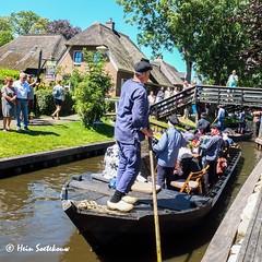 giethoorn (10 van 43) (heinstkw) Tags: boten bruggen dorp giethoorn jansklooster varen vollenhoven water
