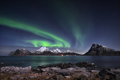 Aurora borealis - The green Lady