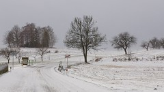 Todo blanco (Luna y Valencia) Tags: castrov vysocina repubblicaceca czechrepublic ceskarepublika neve snow