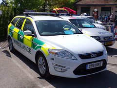 6297 - TV & Film Vehicle - 101_1713 (Call the Cops 999) Tags: uk gb united kingdom great britain england 999 112 emergency service services vehicle vehicles brooklands museum open day bank holiday monday 5 may 2018 ambulance