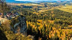 Szczeliniec Wielki (slaant21) Tags: ludzie polska szczeliniecwielki kotlinakłodzka górystołowe góry panorama żółty krajobraz kudowazdrój województwodolnośląskie poland pl landscape mountains
