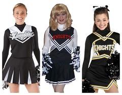 Cheerleader (xgirltv1000) Tags: tgirl trans transgender transisbeautiful girlslikeus crossdress genderfluid genderbender makeover transformation maletofemale boytogirl cheerleader michellemonroe