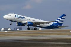 SX-EMJ Ellinair Airbus A320-200 (Nathan_Ivanov) Tags: airplane aircraft vko vnukovo uuww spotting airbus airbusa320 ellinair