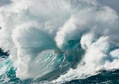 Porto Moniz - surf (Cori Mordaunt) Tags: portomoniz madeira portugal surf sea ocean water photograph nikon d600 blueandwhite